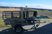 LUMAG SSA400G Benzin Sägespaltautomatr inkl