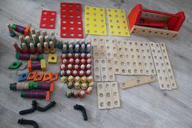 Baufix Baukasten inkusice Werkzeugkorb kombinierbar: Kleinanzeigen aus Neulußheim - Rubrik Holzspielzeug