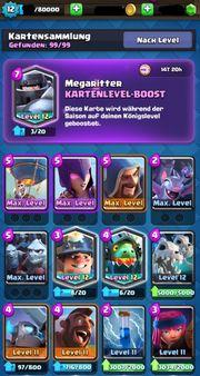 Clash Royale Account Level 12 -