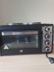 Elektrobackofen mit Kochfeldfunktion