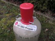 Propan Gasflasche 5 kg - voll
