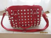 rote damen handtasche zu verkaufen