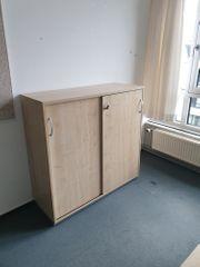 Sideboard 3OH Schiebetürenschrank Büroschrank Aktenschrank