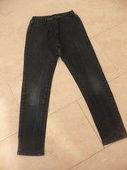 Jeans dunkelblau mit Gummizug Gr