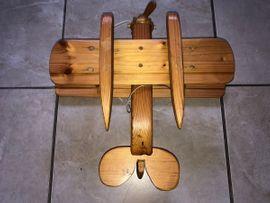 Holzspielzeug - Holzspielzeug FLUGZEUG Kinder Deko Wohnzimmer