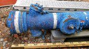 Hydrant Überflur - für die Gartengestaltung