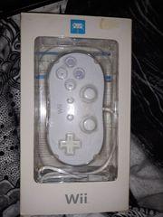 Nintendo Wii Classic Controller Weiß