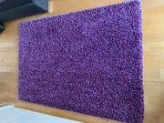 Teppich Lavendel Hochflor top Zustand
