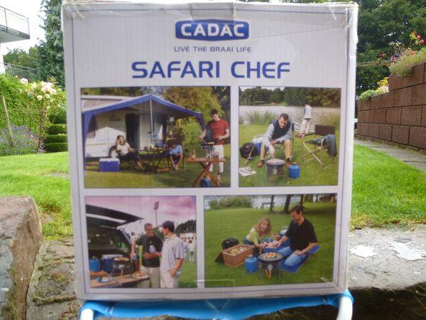 Gasgrill - kocher SAFARI CHEF 50mbar