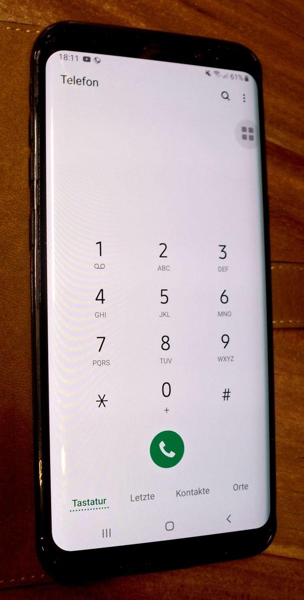 Samsung Galaxy S8 plus , mit Android 9