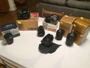 Nikon D800 inkl Objektiv-Set und