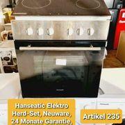 Hanseatic Elektro Herd-Set Neuware 2