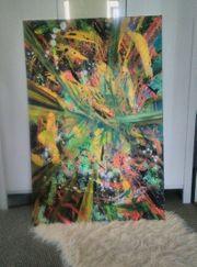 Acryl Bild Abstrakt auf Keilrahmen