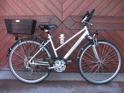 28 Trekking Fahrrad Alurahmen 21