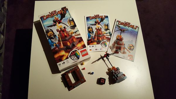 LEGO- Spiel Lava Dragon 3838