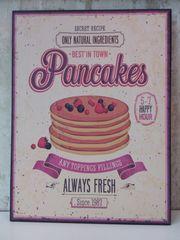 Metallschild Pancakes