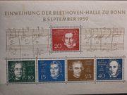 Briefmarken BRD 1959 8 9