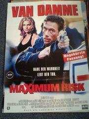 1996 Maximum Risk Plakat A1