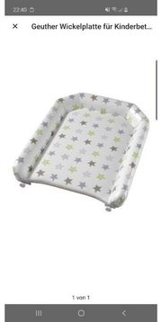 Geuther Wickelplatte für Kinderbetten 4814