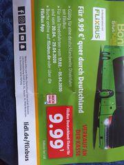 2 FlixBus Deutschland-Tickets