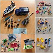 Playmobil Sets - Polizei Post Kinder