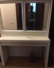 Schminktisch mit Spiegel Ikea Malm