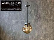 Designlampen aus massivem Glas