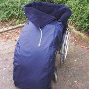 Schlupfsack für Rollstuhl