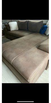 Couch Sofa Ecksofa Vintage Optik