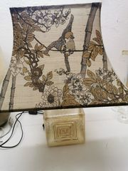 wunderschöne Vintage Lampe retro