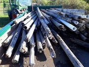 Holzpfähle aus Weinberg umsonst abzugeben