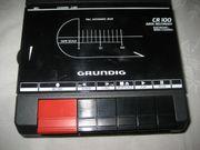 Grundig CR100 Cassetten-Player Kassetten-Spieler Cassetten-Recorder