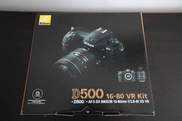 Nikon D500 Gehäuse im Set
