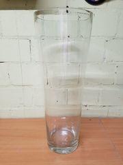 Glasvase Vase Bodenvase Deko Haushalt