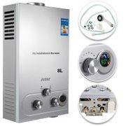 Propangas Durchlauferhitzer Warmwasserbereiter Boiler 8L