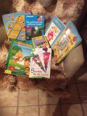 Spielsachen und Bücher für Kinder