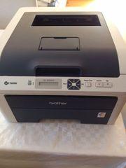 Gebrauchter Brother HL-3040CN Farb-Laserdrucker - nur