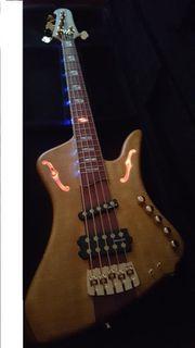 Bass Gitarre Masterpiece Unikat 5