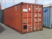 Seecontainer 20ft 1300EUR 40ft 1500EUR