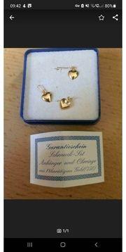 750 gold Ohrringe