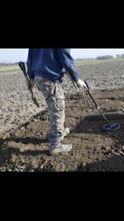 Grundstücke Wiesen Äcker Sondeln Metalldetektor