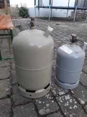 Gasflasche 11 und 5 kg