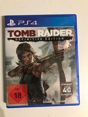 Tomb Raider PS4 - neuwertig einmal