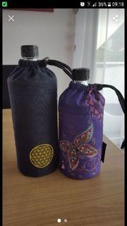 Emil Glasflaschen mit Hüllen