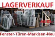 FENSTER-HAUSTÜREN-BALKON-TERRASSENTÜREN-MARKISEN-ROLLLÄDEN die Woche LAGERABVERKAUF bis 80