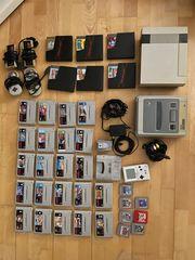 NES SNES Gameboy Pocket Konsolen
