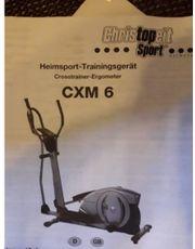 Crosstrainer Ergometer Cristopeit CXM6
