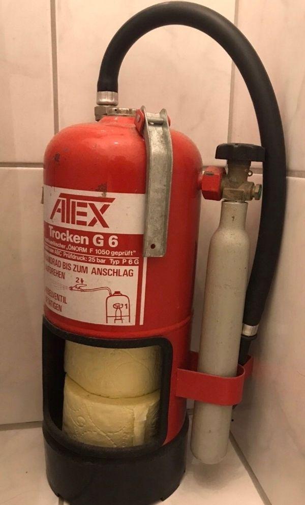 Toilettenpapier-halter Feuerlöscher