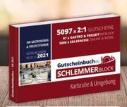 Gutscheinbuch Schlemmerblock 2021 Karlsruhe und