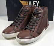 Riley Clark Leder Sneaker Stiefel